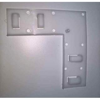 Kulma kiinnike LED nauhalle