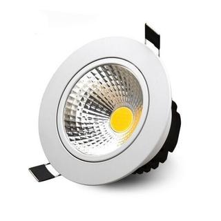 Upotettava LED-kohdevalaisin 5W, himmennettävä, lämminvalkoinen 2700K