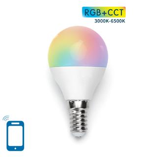 E14 G45 7W WIFI RGB+CCT