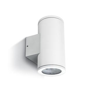 Seinävalaisin, valkoinen, GU10, IP54