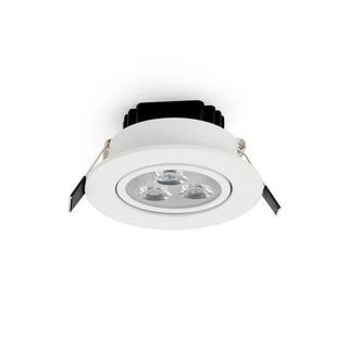 Upotettava LED-kohdevalaisin 3W, himmennettävä, kylmä valkoinen 6000K