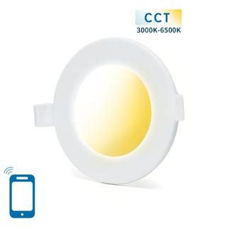SMART LED SLIM Alasvalo 6W WIFI CCT(3000K-6500K)
