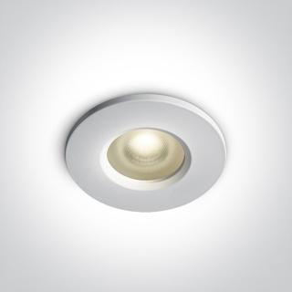 Upotettava kohdevalaisin GU10, huurrettu lasi, IP65