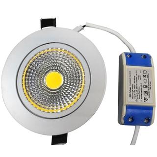Upotettava LED-kohdevalaisin 7W, himmennettävä, kylmä valkoinen 6000K